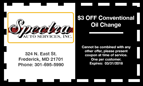 spectra-3-off-oil-change-coupon-specials