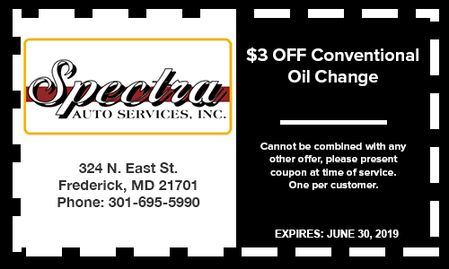 $3 off oil change special